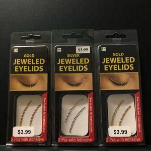 Jewel rhinestone eyeliner 👁